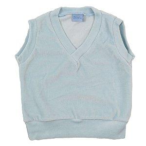 Colete Plush Infantil Azul Bebe TAM 1 ao 4