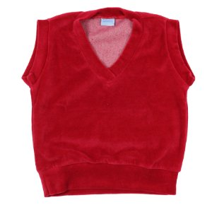 Colete Infantil Plush Vermelho TAM 1