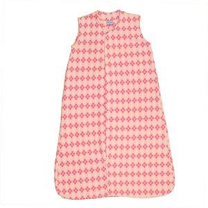 Saco de dormir Baby Soft Escocês Rosa Botão De 1 até 12 Meses