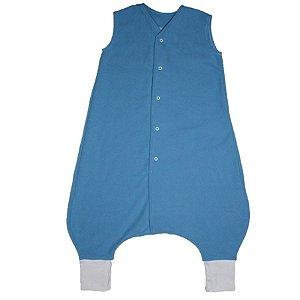 Saco de Dormir Crescidinhos 1 Soft Amor Azul Botão De 4 até 7 Anos