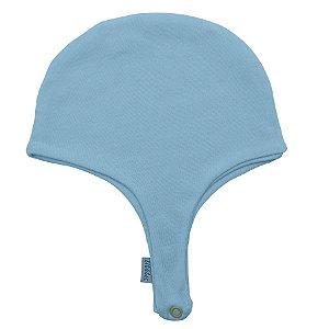 Gorro Aviador Azul Bebê