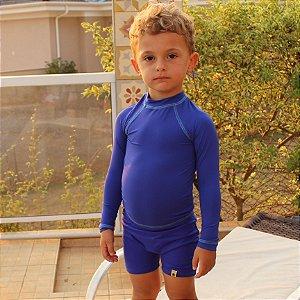 Camiseta Proteção Solar PFS 50+ UV+ Royal