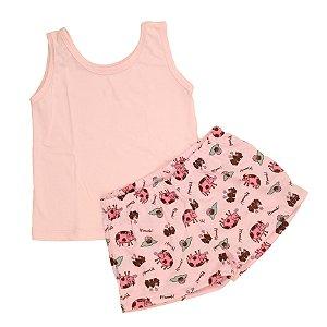 Pijama Pink Cow