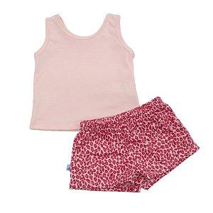 Pijama Onça Pink