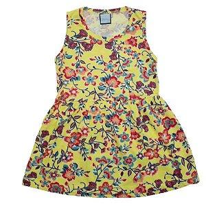 Vestido Flores do Verão TAM 1 - 3