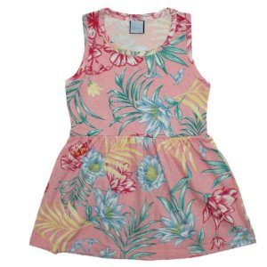 Vestido Flores da Primavera TAM 3 - 6