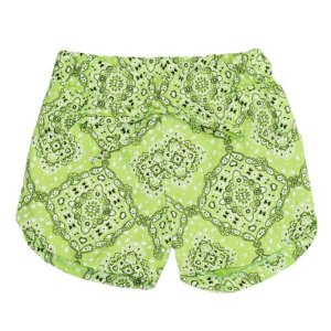 Shorts Feminino Mandala Verde TAM 3 e 4