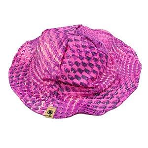Chapéu Tons de Rosa Protetor Solar FPS 50