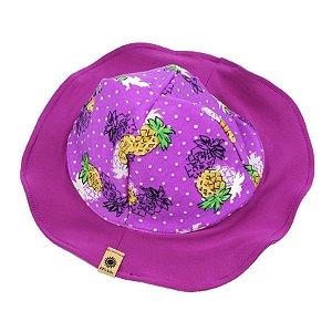 Chapéu Abacaxi Protetor Solar FPS 50 TAM 1 - 2