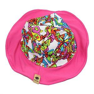 Chapéu Borboleta Proteção Solar FPS 50 UV+ TAM PP 6 Meses