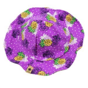Chapéu Abacaxi Proteção Solar FPS 50 UV+ TAM PP - 1 - 4 - 6
