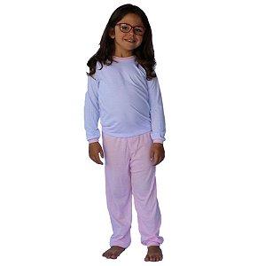 Conjunto Pijama Calça e Camiseta Manga Longa