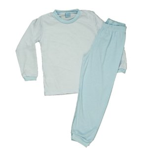 Conjunto Pijama Calça e Camiseta Manga Longa TAM 4 - 6 - 8