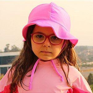 Chapéu Proteção Solar FPS 50 UV+  Rosa e Roxo