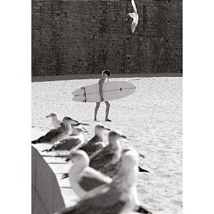 Surf Girl Ericeira Portugal