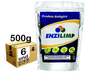 ENZILIMP MILLENNIUN BIORREMEDIADOR P/ ESGOTO - CX 06x500g