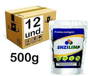 ENZILIMP MILLENNIUN BIORREMEDIADOR P/ ESGOTO - CX 12x500g