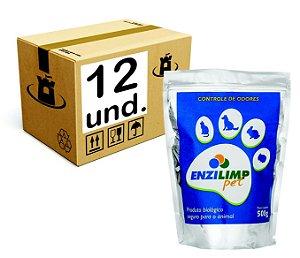 ENZILIMP PET MILLENNIUN BIORREMEDIADOR P/ MAUS ODORES - CX 12x500g
