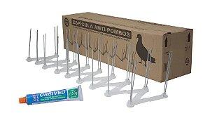ESPICULA ANTI-POMBOS INCOLOR Plastwill - CX 10m