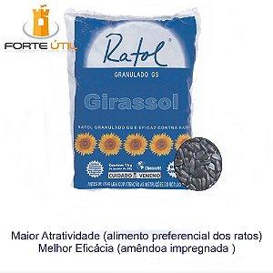 Raticida Ratol Girassol ChemoNE Saco (20x50g)1Kg