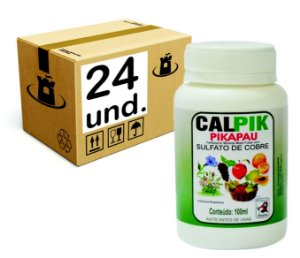 CALPIK SULFATO DE COBRE Pikapau - CX 24x100ml