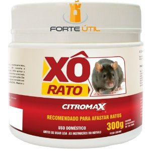 XO RATO REPELENTE CITROMAX POTE 300g