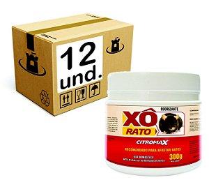 XO RATO REPELENTE CITROMAX POTE - CX 12x300g