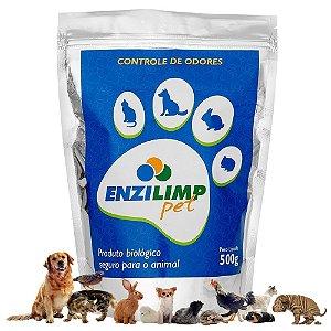ENZILIMP PET MILLENNIUN BIORREMEDIADOR P/ MAUS ODORES 500g