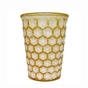 Vaso Decorativo de Vidro - Abacaxi