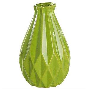 Vaso Decorativo de Cerâmica Grande - Verde