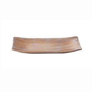Bandeja Canoa Pequena em MDF - 25 x 10 cm