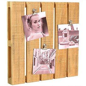 Porta-Retrato Mini Palete - 30 cm