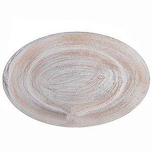 Bandeja Oval em MDF - 33 x 21 cm