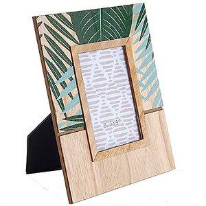 Porta-Retrato - Folhagem Tropical - 18 x 22 cm