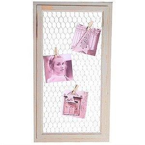 Porta-Retrato com Tela de Arame - 28 x 50,5 cm