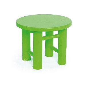 Banco Redondo Verde Neon Médio 15x15x12 - 2 Unidades