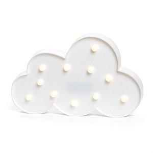 Luminoso Nuvem com Led Branco - 2 Unidades