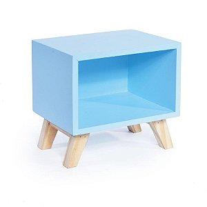 Nicho Retro Azul 20x15x19 - 2 Unidades