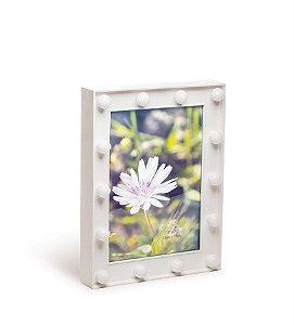 Porta Retrato com Led Branco Médio 17x3x22 - 2 Unidades