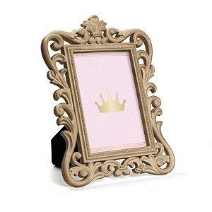 Porta Retrato Provençal Ouro 17,5x1,5x23,5 - 2 Unidades