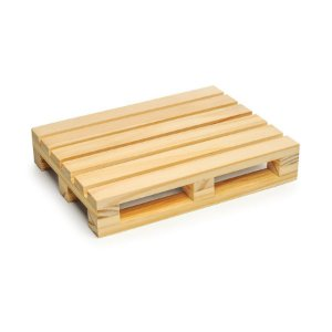 Suporte Paletes para Doces Natural 20x15x3,5 - 2 Unidades