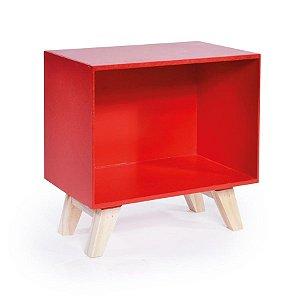 Nicho Retro Vermelho Médio 24,5x15x25 - 1 Unidade