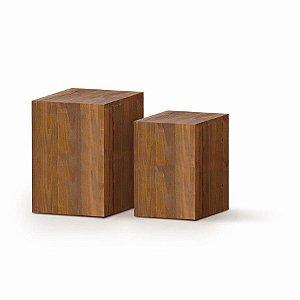 Conjunto de Cubos Rústico - 1 Unidade