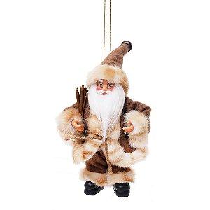 Noel com Galhos Secos Marrom - Jogo com 3 Peças