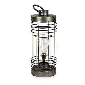 Luminária de Metal com Lampada G