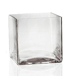 Vaso de Vidro Transparente M