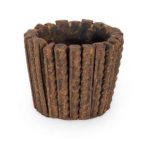 Vaso Terracota Vergalhão P