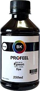 Tinta Corante Profeel para epson refil 250ml