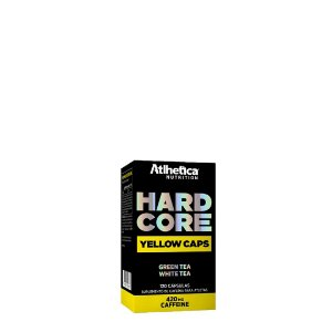 Hardcore Yellow (120 cáps) - Atlhetica Nutrition