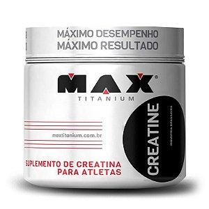 Creatina Monohidratada 300g Max Titanium